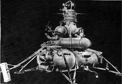 Luna 16 Spacecraft
