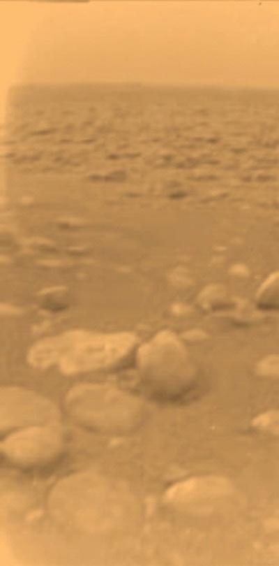 Photo of Saturn's Moon Titan