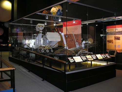 Mars Rovers on Display