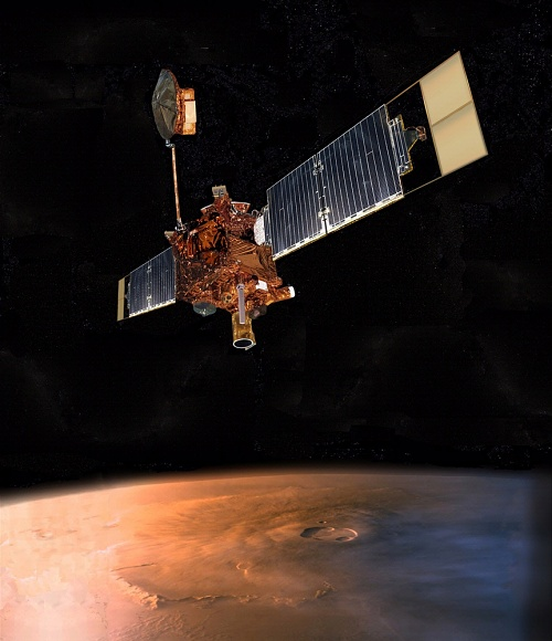 Mars Global Surveyor Spacecraft