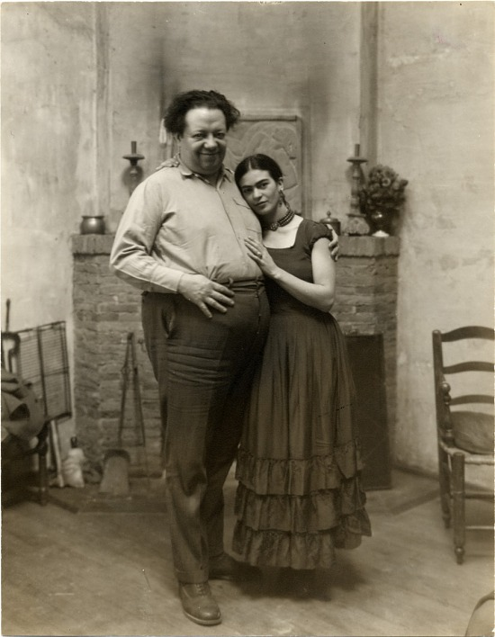 image for Portrait of Frida Kahlo and Diego Rivera