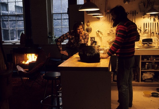 image for Two men in a SoHo kitchen