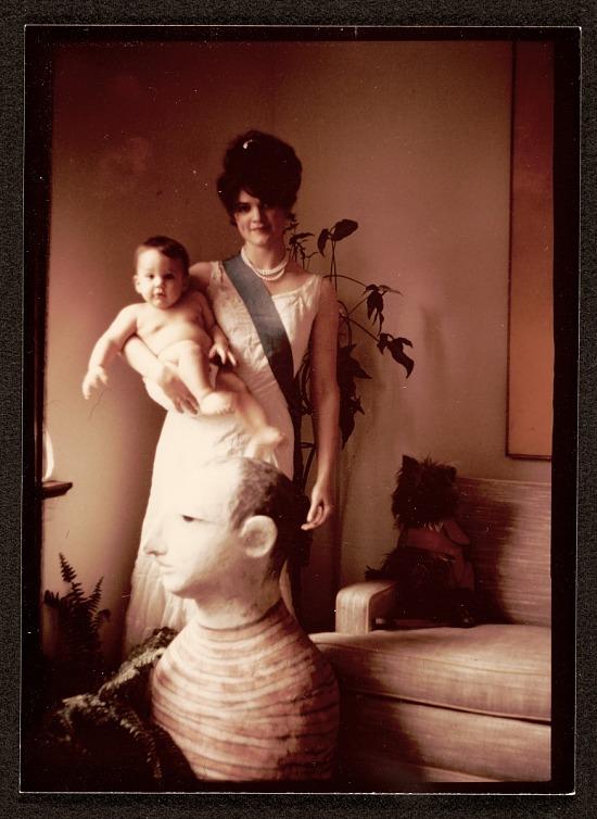 image for Cynthia Hart holding her son Jon Ippolito