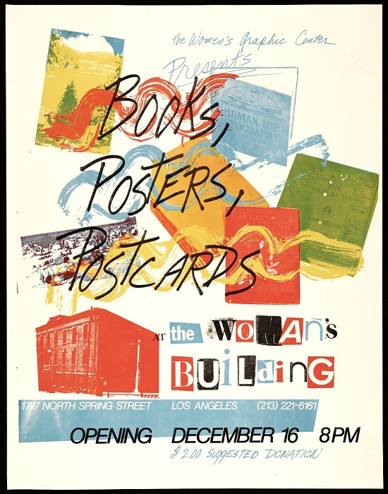 image for Books, posters, postcards exhibit poster