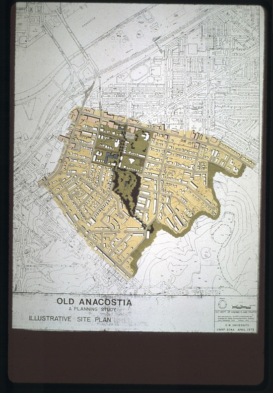 image for Map of Old Anacostia, Ward 6, S.E