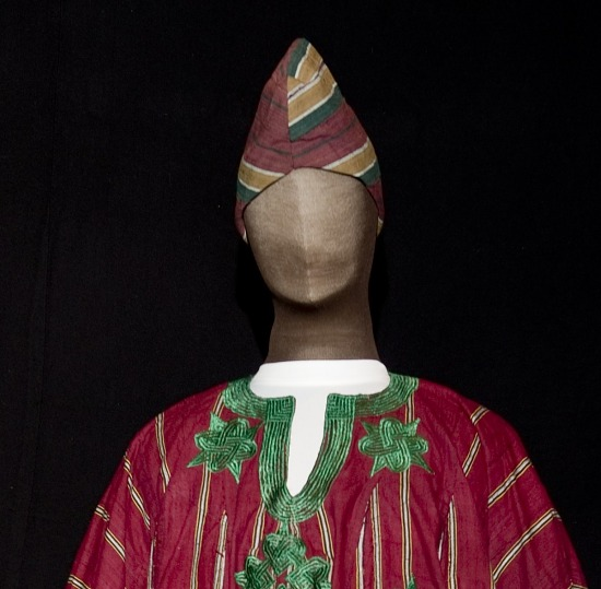 image for Yoruba Nigerian Chief's cap / kufi (goes with robe and pants)