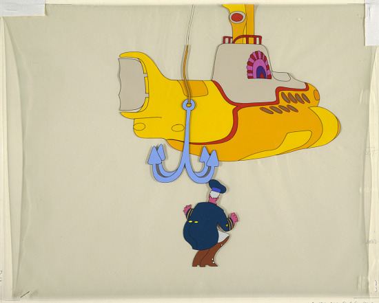 """image for Cartoon for """"The Yellow Submarine"""""""