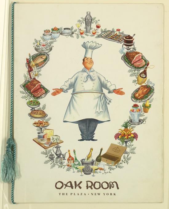 image for Menu for Oak Room, The Pl