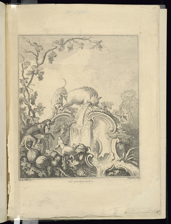 image for Design for a Cartouche Evoking the Season of Autumn and The Chase