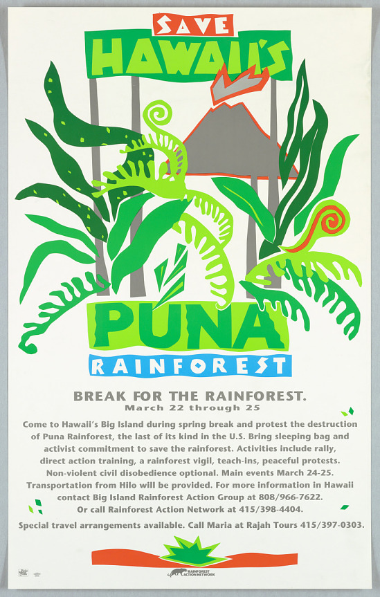 image for Save Hawaii Puna Rainforest