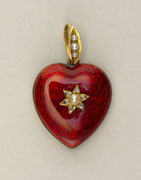 image for Locket in the form of a heart