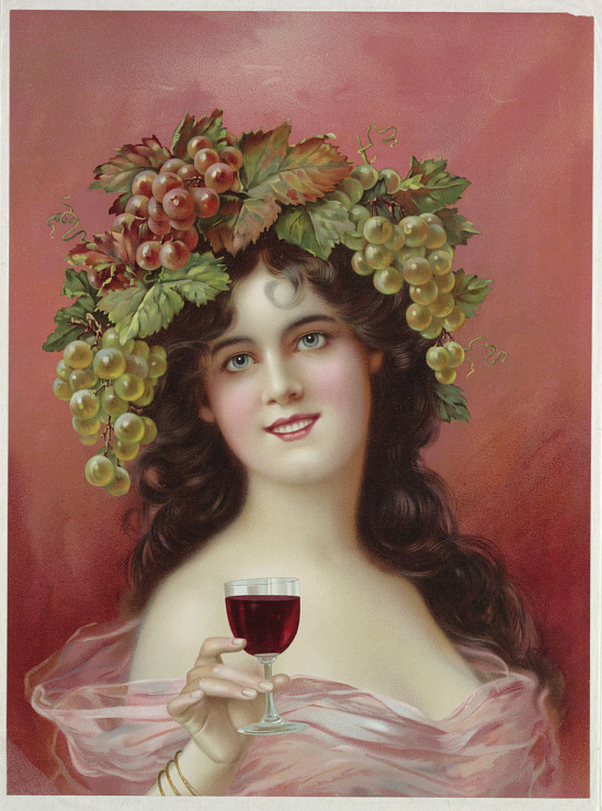 image for Advertising poster for red wine