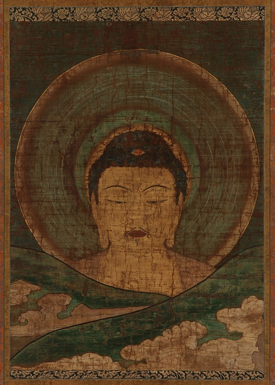 image for Amitabha rising above the hills