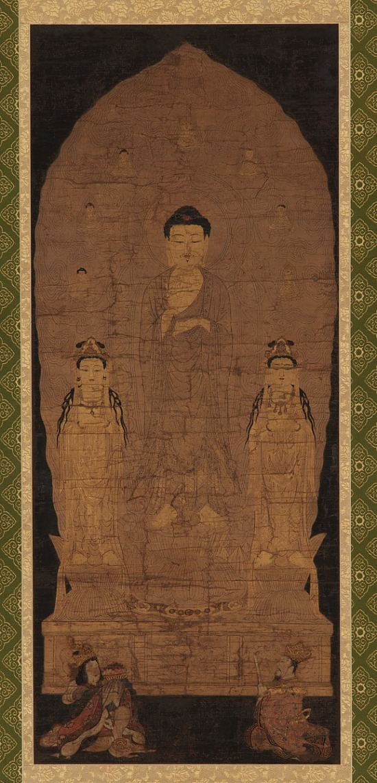 image for Amitabha triad