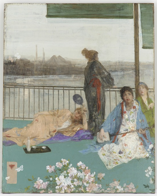 image for Variations in Flesh Colour and Green - The Balcony