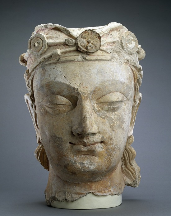 image for Head of a Bodhisattva