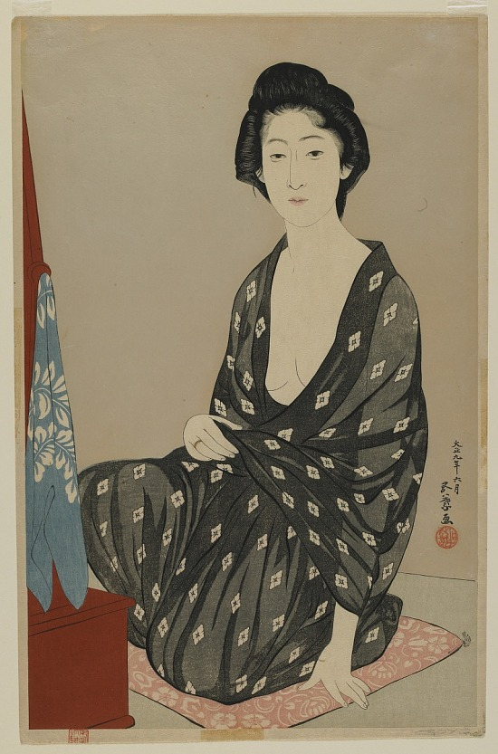 image for Woman in Summer Dress