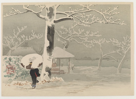 image for Snow at Sumida river