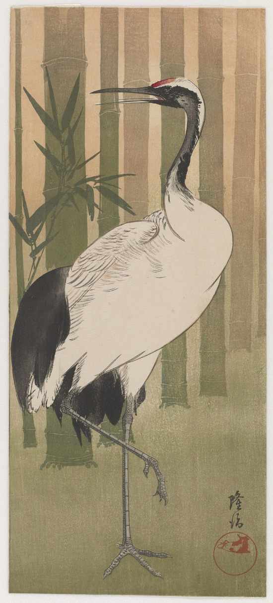 image for Crane In Bamboo Grove