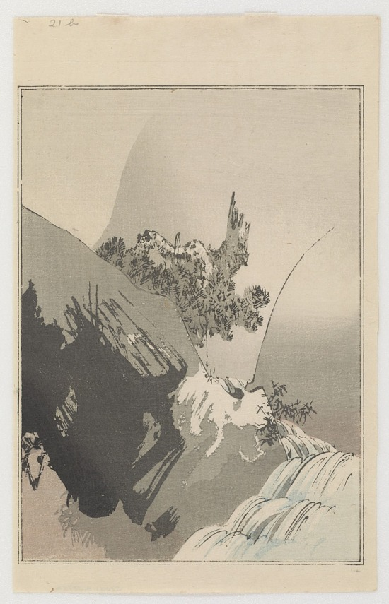 image for Crane and Rising Sun, from Seitei's Picture Album of Birds and Flowers Vol. 3