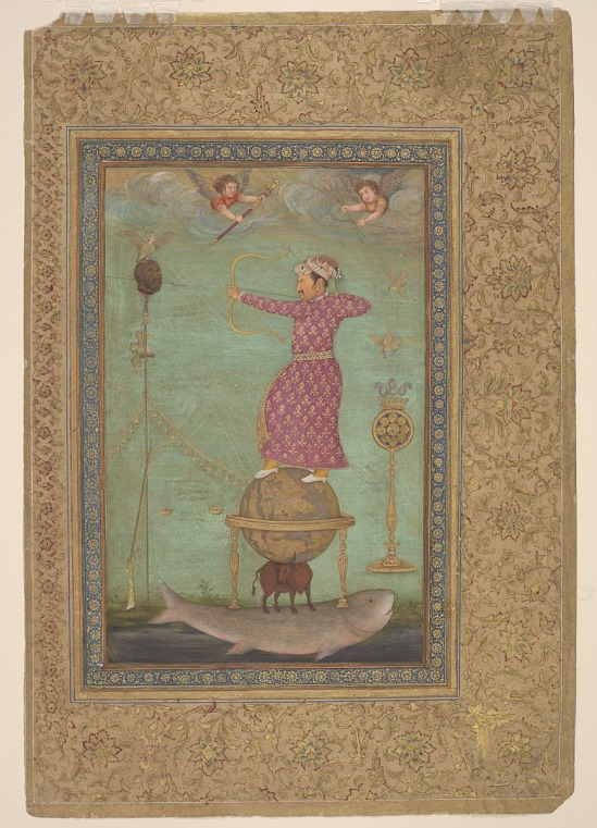 image for Jahangir Shooting the Head of Malik Ambar