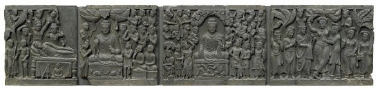 image for Scenes from the life of the Buddha