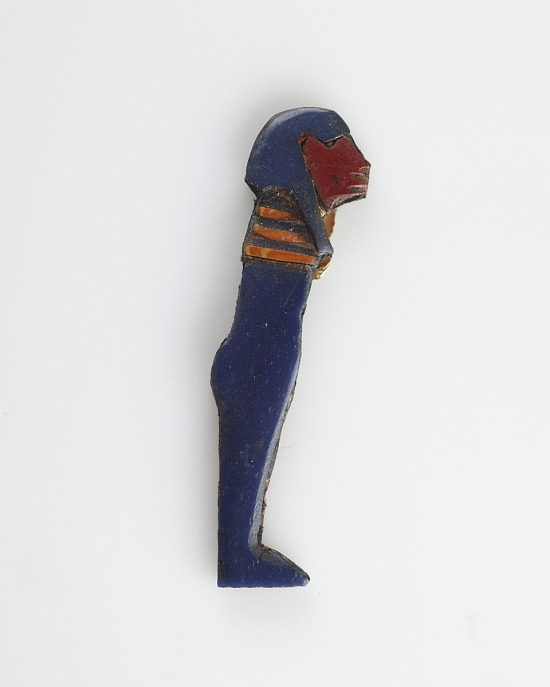 image for Inlay in the form of a mummy figure with cat (?) head