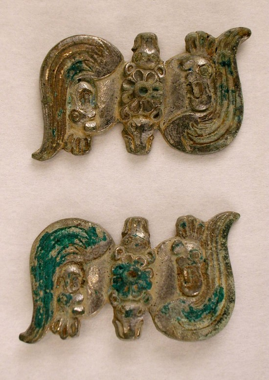 image for Pair of belt ornaments