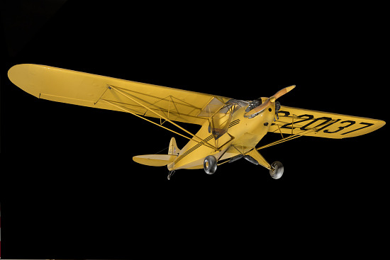 Yellow Piper J-2 Cub