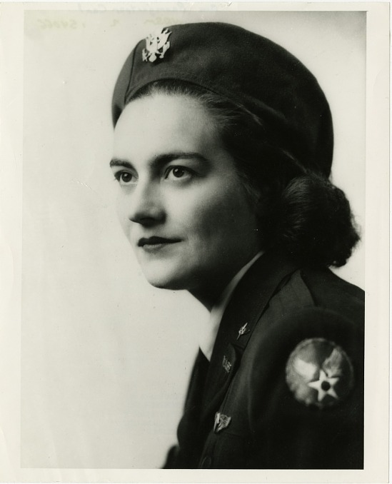 image for Carl, Ann Baumgartner; Army Air Forces, Organizations, Women Airforce Service Pilots (WASPs). photograph
