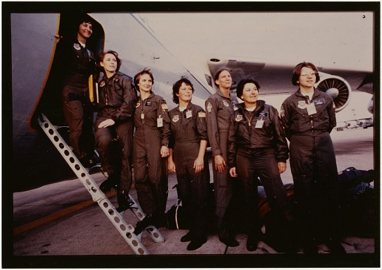 image for Women in Aviation, Military; USA, Air Force; 1983 Events, General. photograph