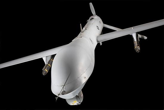 Nose of General Atomics MQ-1L Predator A UAV