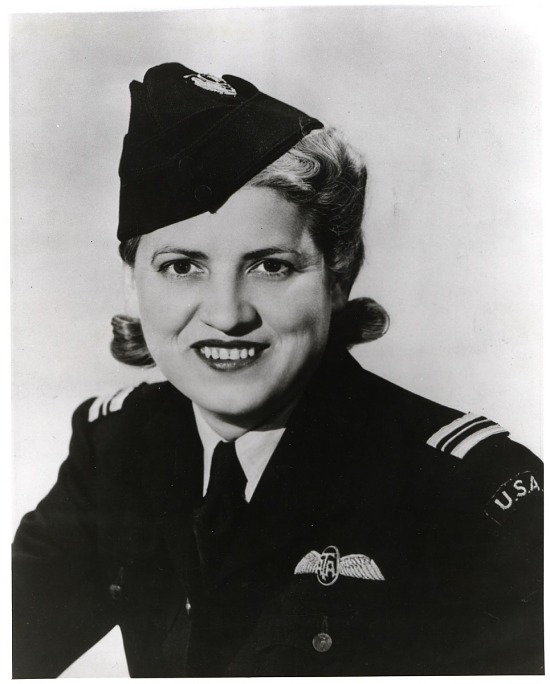 """image for Cochran, Jacqueline """"Jackie"""" (Bessie Lee Pittman); Military, UK, Royal Air Force (RAF), Air Transport Auxiliary (ATA). photograph"""