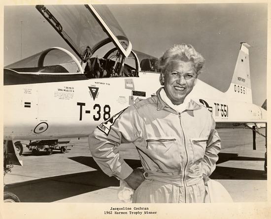 image for Cochran, Jacqueline; Northrop T-38 Talon Family. photograph