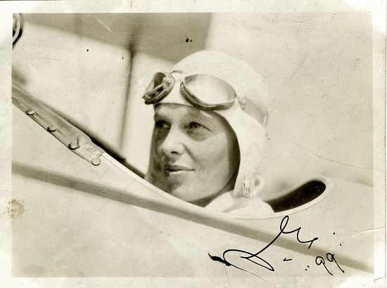 image for Earhart, Amelia Mary. photograph