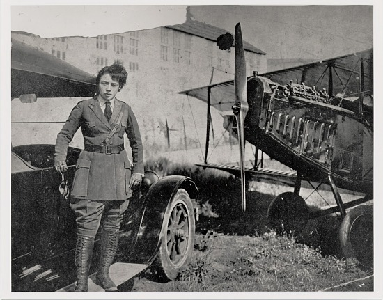 image for Coleman, Bessie; Curtiss JN-4 Jenny Family. photograph