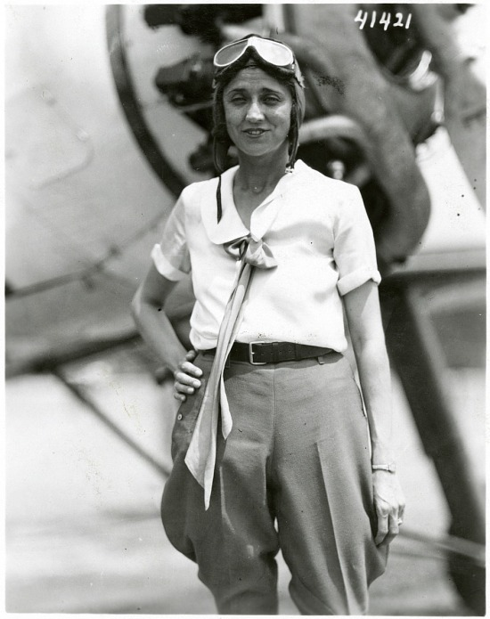 image for Noyes, Blanche Wilcox; Pitcairn PCA-2 Autogiro. photograph