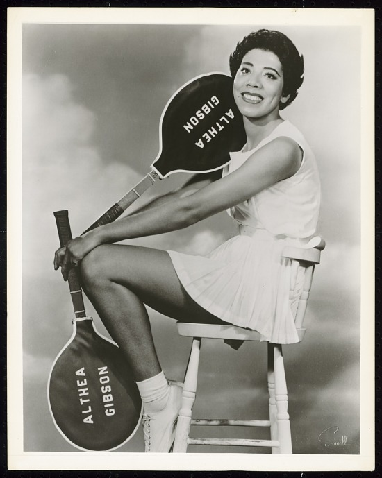 image for Photograph of Althea Gibson