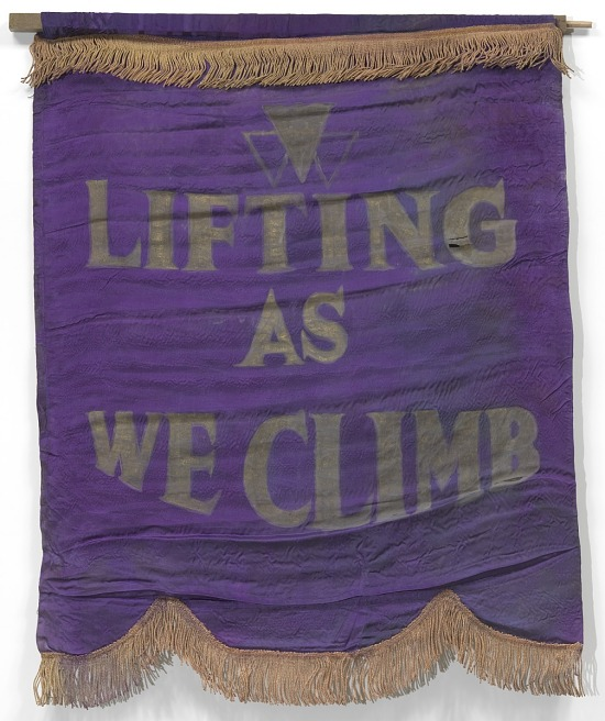 image for Banner with motto of the National Association of Colored Women's Clubs