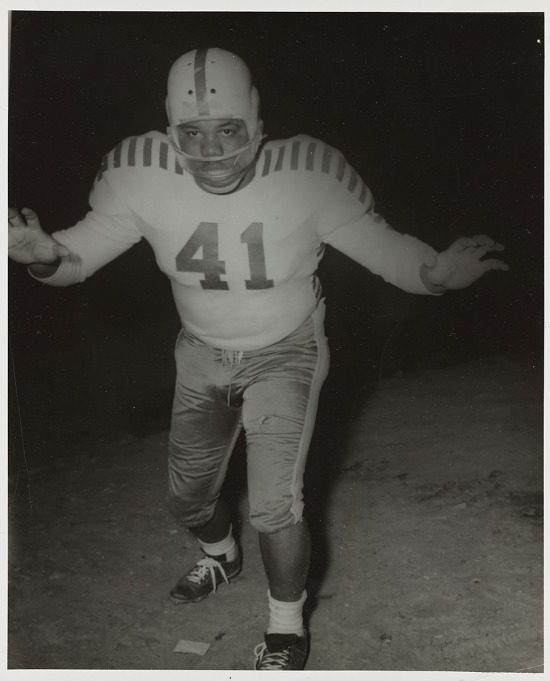 image for Portrait of a Mississippi Vocational College football player