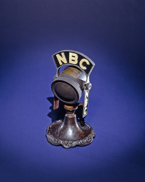 "image for NBC ""Fireside Chat"" Microphone"