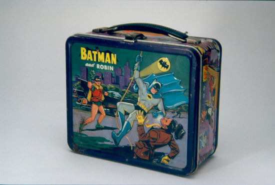 image for Batman and Robin Lunch Box