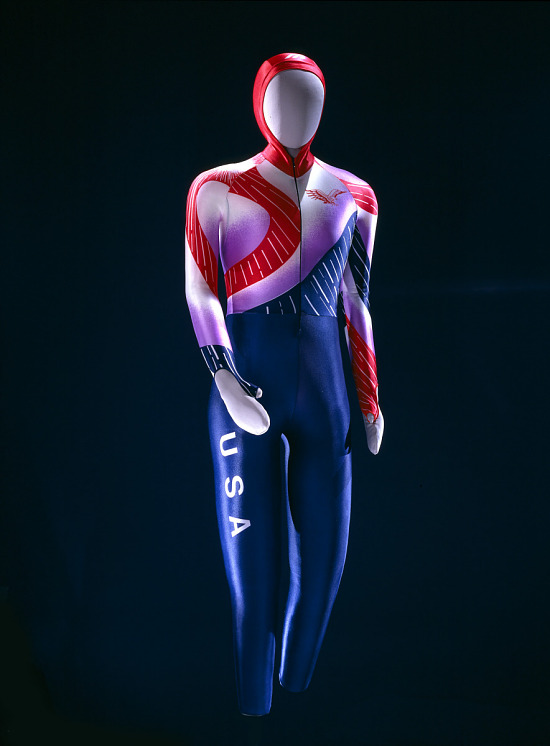 image for Olympic Skating Skin Suit, worn by Bonnie Blair