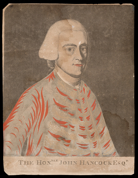 image for Portrait of John Hancock