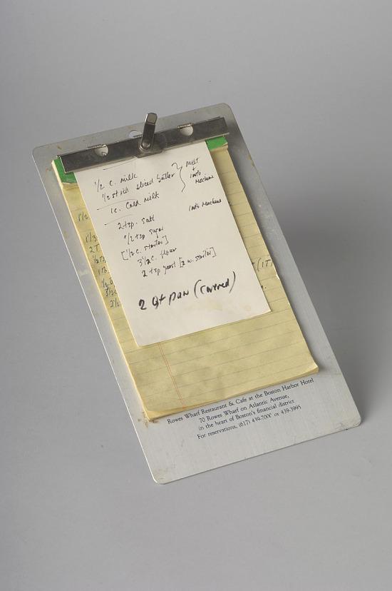 image for Julia Child's Handwritten Recipe