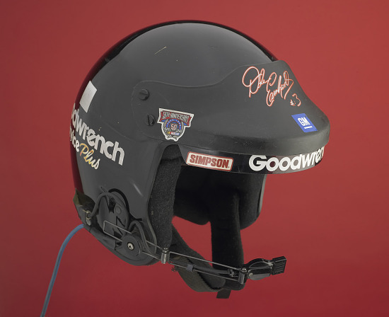 image for Racing Helmet Worn by Dale Earnhardt, Sr., 1998