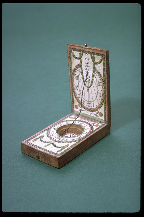 image for Portable Diptych Sundial by T. G. Kleininger