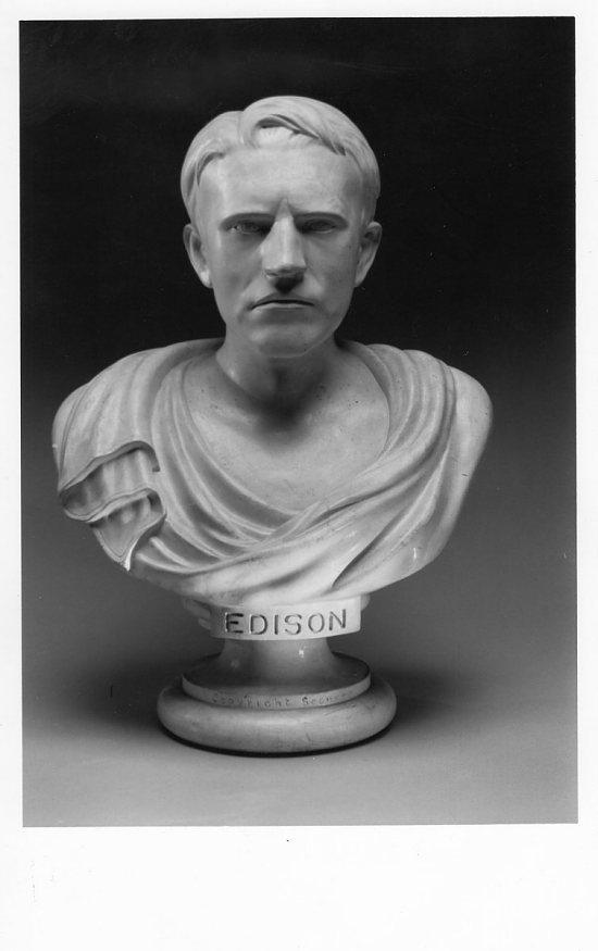Phrenological Bust Of Thomas Alva Edison Smithsonian
