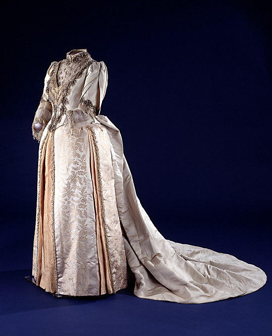 image for Caroline Harrison's 1889 Inaugural Gown