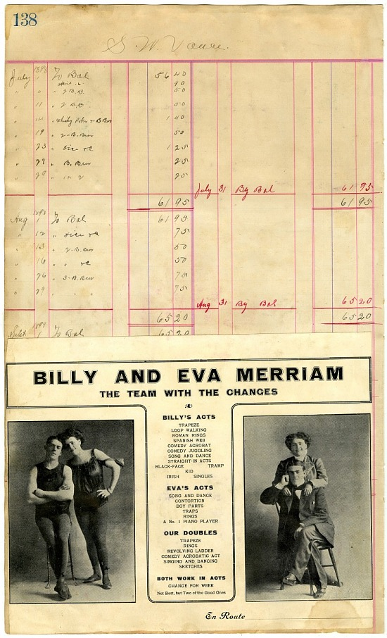image for Billy and Eva Merriam the team with the changes: advertisement